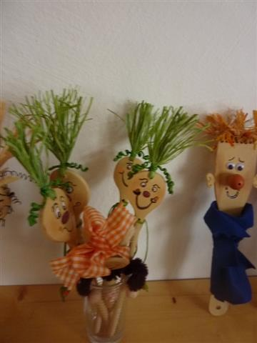 Gras- und Heuköpfe