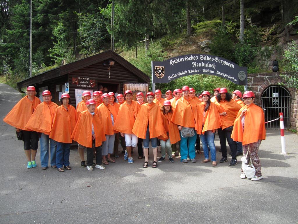 Jahresausflug 2015 Bad Teinach & Neubulach
