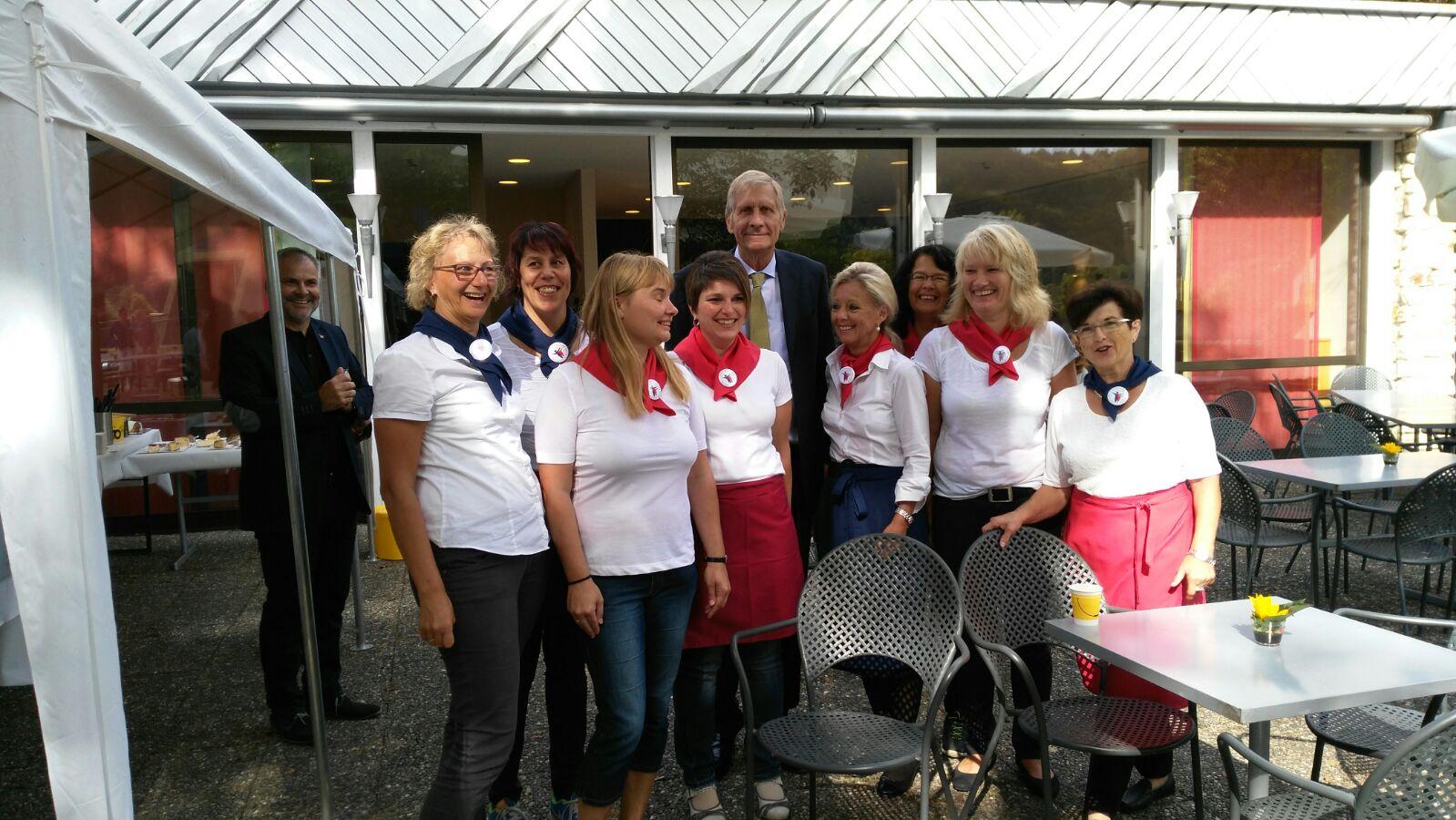 sto Tag der offenen Tür 2016 mit Ullrich Wickert